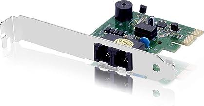 VTOP Fax Módem PCIe Interno de 56K V.92 - Agregue a su Ordenador de Sobremesa Acceso Telefónico Conmutado a Internet y Compatibilidad con un Fax Módem Interno