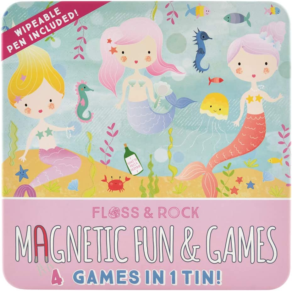 Floss Rock 40P3559 Mermaid Albuquerque Mall Magnetic Games Fun and Toy Columbus Mall