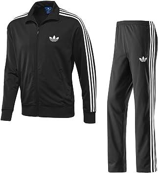 Descripción del negocio Enderezar Crónico  Adidas Firebird Completo Chándal Para Hombre - Negro, Extra Grande:  Amazon.es: Deportes y aire libre