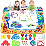 FOYOKEN Water Doodle Mat Drawing Mat Educational Learning Birthday Toddler Toys Gifts for 2 3 4 5 6...