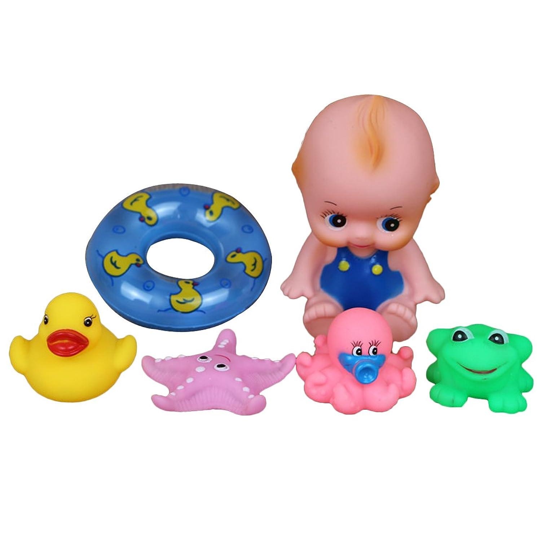 (コージーエージ)CozyAge お風呂おもちゃ 赤ちゃん出産祝い やわらかおふろでバラエティセット18?25個 色指定不可 大人気のおもちゃ 子供知育玩具