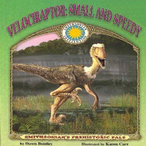 Velociraptor audiobook cover art