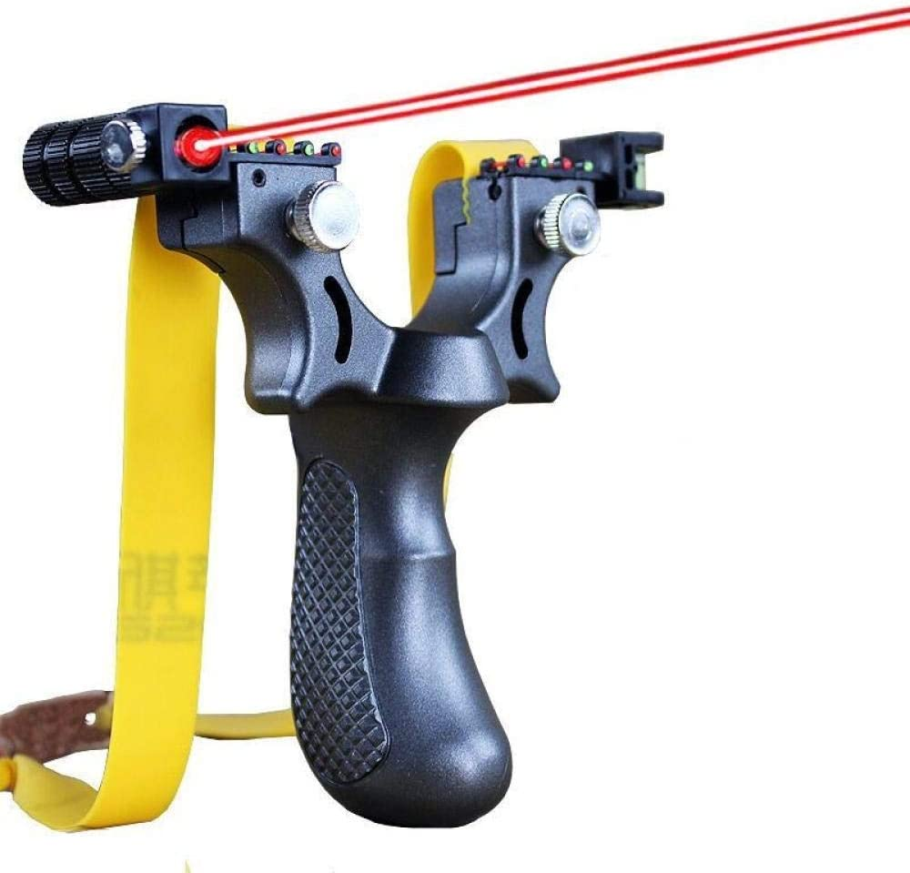 GRTG Laser Aiming Shooting Slingshot with Cheap super special price Instrum Max 70% OFF Level Equipped