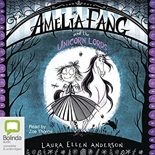 Amelia Fang and the Unicorn Lords cover art