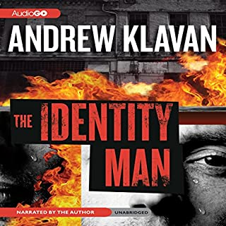 The Identity Man audiobook cover art