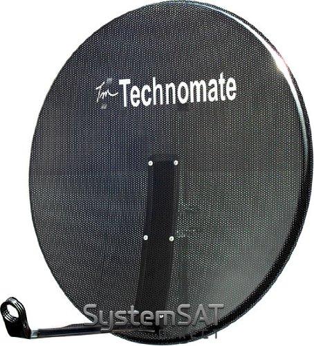 1m Technomate Mesh Hi-Gain Satellite Dish & Fittings - SystemSat