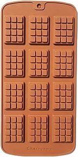 Cherrysma™ [Mold Bazaar] Mini Chocolate Fondant Silicone Mold DIY 3D Candy Bar Mould Cake Decoration Tools Kitchen Baking ...