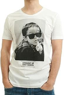be famous Camiseta de Men–pssst.–White