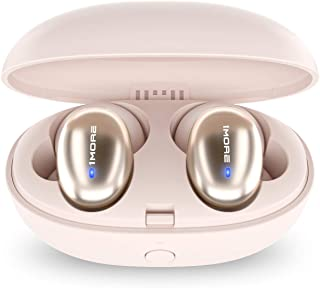 1MORE Stylish True Wireless in-Ear Headphones - Bluetooth - 6.5 Hours of Battery - 15-Minute Quick Charge for 3 Hours of Use – Portable Charging Headphone Case Included - True Wireless Earphones