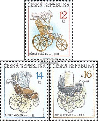 Tsjechië Mi.-Aantal.: 413-415 (compleet.Kwestie.) 2004 Kinderwagen (Postzegels voor verzamelaars)