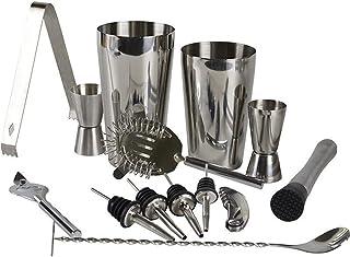 Cocktail Shaker Set Roestvrijstalen Drinken Mixer Bar Gereedschap Set Met Shaker Meten Cup Bar Spoon Geschikt Voor Family ...