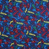 Spiderman Avenger Superhelden-Stoff, gebürstete Baumwolle,