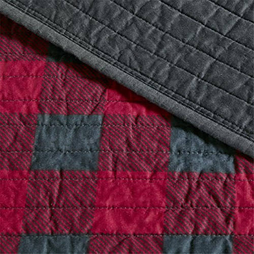 Woolrich Quilt Mini Set Full/Queen Check Red