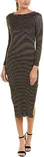 فستان مقلم محبوك تيم للنساء من فرينش كونيكشن