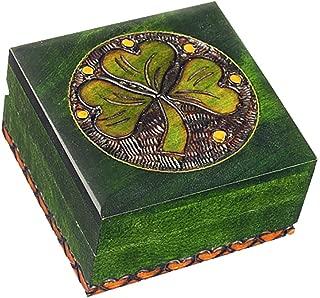 shamrock jewelry box