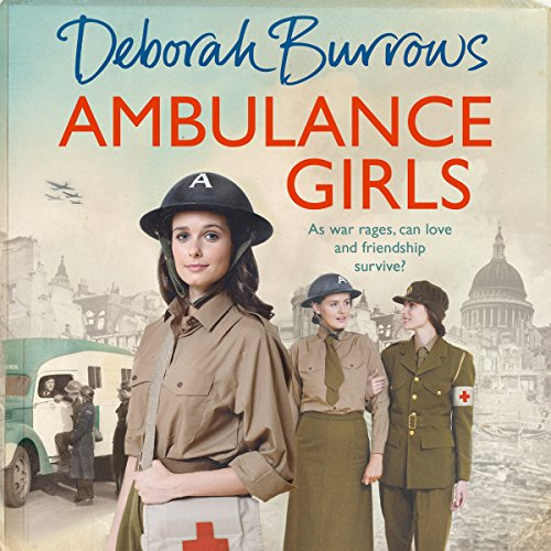 Ambulance Girls audiobook cover art