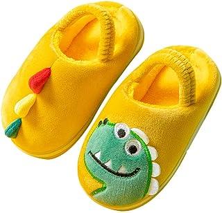 Holibanna Zapatillas de Dinosaurio para Niños Zapatillas de Casa de Interior Calientes Zapatillas de Animales para Niños N...