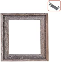 BarnwoodUSA Rustic Farmhouse Open Signature Picture Frame - Our 8x8 Open Picture Frame can be Used for DIY Projects | Crafted from 100% Recycled and Reclaimed Wood | No Assembly Required