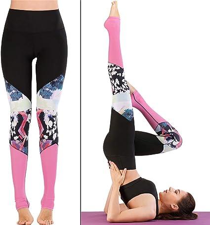 Sexy Lingerie Pantalones De Yoga De Fitness con Tinte Tie-Dye ...