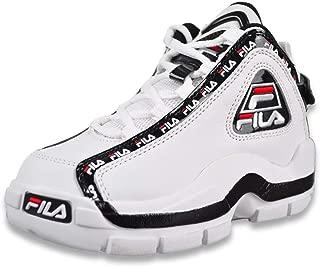 Mens Fila 95 SLIP Grant Hill Retro Classic Basketball Shoes Ink Light Blue White