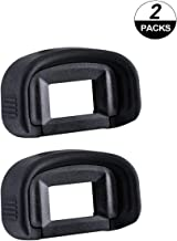 ADQQ 2 Pack Eyepiece Eyecup Eye Cup EG Replacement for Canon EOS-1D X/1Ds Mark III/1D Mark IV/1D Mark III/EOS 5D Mark III/7D DSLR Camera