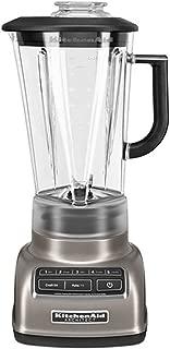 KitchenAid KSB1575ACS 5-Speed Diamond Blender with 60-Ounce BPA-Free Pitcher Architect Series, Coco Silver…