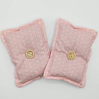 """Mini cuscino""""Dormi Bene - rosa chiaro"""" (confezione con 2 unità) pieno di semi di lavanda bio - mettilo sotto al tuo cuscin..."""
