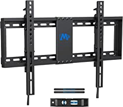 Mounting Dream TV Wall Mount TV Bracket with Leveling Design for 37-70 inch TVs, Fixed TV Mount with Max VESA 600x400mm Weight up to 132 LBS, Low Profile TV Wall Mounts Fit 16