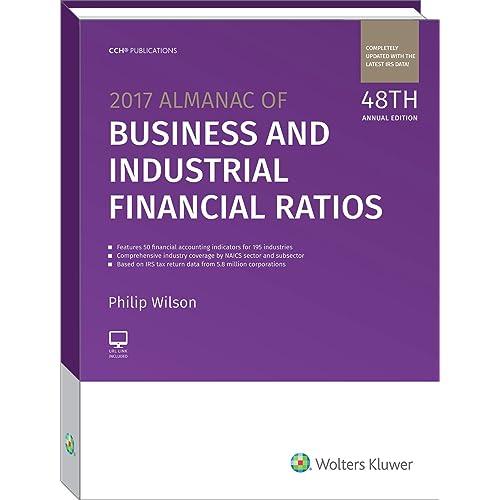 Almanac of Business & Industrial Financial Ratios (2015) (Almanac ...
