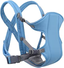 Baby Carriers Front Facing Infant Sling Backpack Pouch Wrap toddler Kangroo Belt 0-24M (Color : Sky Blue)