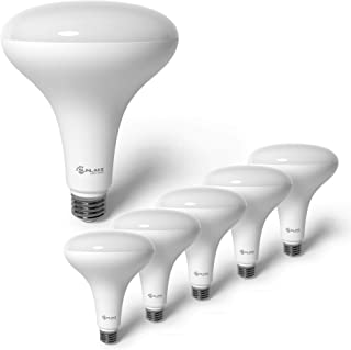 SunLake Lighting 6 Pack BR40 LED Light Bulb, 14W=85W, Dimmable, 5000K Daylight, E26 Base, Dimmable, Energy Efficient Indoo...