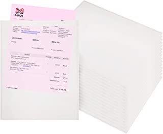 Packing List envelopes 9.5 x 12 Document mailers 9 1/2 x 12 by Amiff. Pack of 100 2 mil Thick envelopes. Clear Self-Adhesive envelopes. Peel and Seal, Shipping, Packing, Packaging.