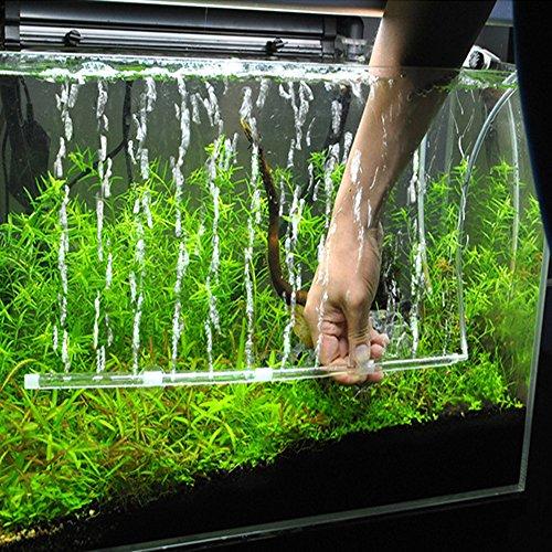 Berrose Aquarium DIY Blasenstreifen Aquarium-Pumpe hydroponischer Sauerstoff-Platten-Miniaquarium-Zubehör durch