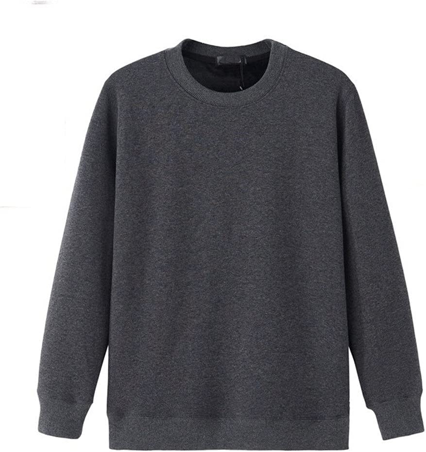 GYZCZX Thermal Underwear Men Fleece Undershirt Keep Warm in Winter Thermo Shirt Size M to 6XL (Color : B, Size : 6XL Code)