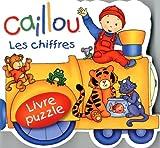 Les chiffres: Livre puzzle (Caillou)
