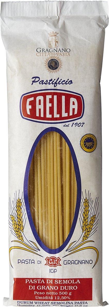 Faella Bucatini Pasta - IGP Gragnano - 1.1 lb
