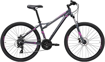 REID Girl's L Escape WSD 1.0 Mountain Bike - Grey/Purple, 130 x 40 x 20