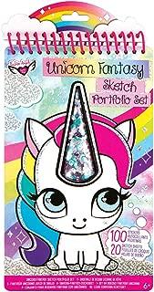 Unicorn Fantasy Compact Sketch Portfolio