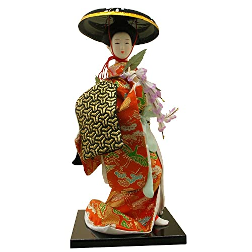 Authentic Geisha Doll 12 inches Figure #5