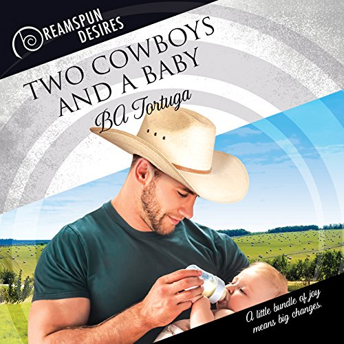 Two Cowboys and a Baby audiobook cover art