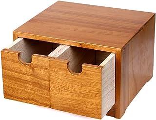 Casiers, étagères et tiroirs Caissons de rangement Boîte De Rangement Boîte De Rangement De Bureau Tiroir En Bois Massif B...