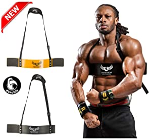 MADX Fitness Bicep Isolator Arms Blaster Bomber Weight Lifting Gym Strap