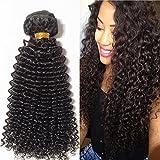 25cm Extension Capelli Veri Tessitura Capelli Ricci Remy Human Hair Kinky Curly Extension Matassa 100g/Bundle