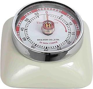 DULTON Magnetic 55 Minute Kitchen Timer Square - Ivory