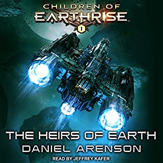 The Heirs of Earth     Children of Earthrise Series, Book 1              By:                                                                                                                                 Daniel Arenson                               Narrated by:                                                                                                                                 Jeffrey Kafer                      Length: 11 hrs and 50 mins     15 ratings     Overall 4.3