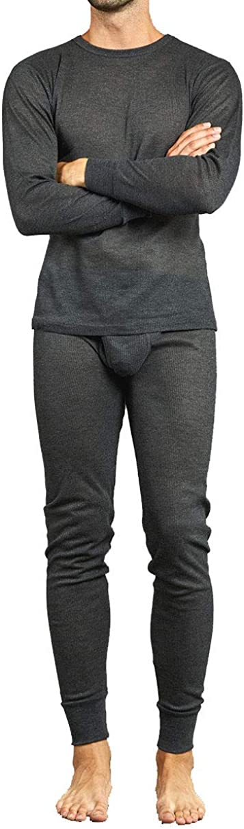 Men's Two Piece Long Johns Thermal Underwear Set