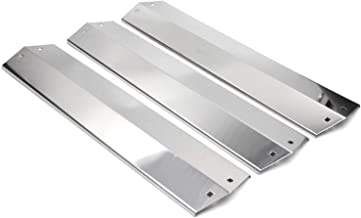 Hongso SPE051 (3-pack) Stainless Steel Heat Plates, Heat Shield, Heat Tent, Burner Cover Replacement for Chargriller 3001, 3008, 3030, 4000, 4208, 5050, 5072, 5252, 5650 Gas Grill (18 15/16