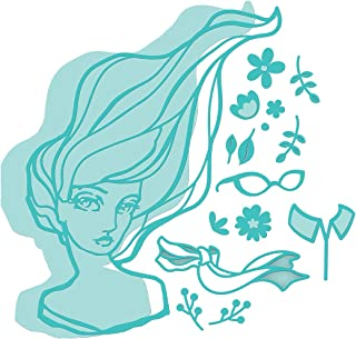 Spellbinders JDD-048 Marcia's Makeover from Artomology by Jane Davenport Etched/Wafer Thin Dies Teal