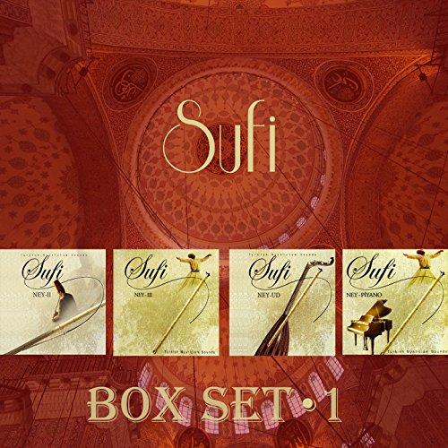 Sufi Ney Seri Box Set, Vol. 1 (4 Albüm 47 Eser)