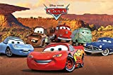 empireposter 748171 Cars – Characters – Cartel de Cine Movie Disney – Tamaño 91,5 x 61 cm, Papel, Multicolor, 91,5 x 61 x 0.14 cm